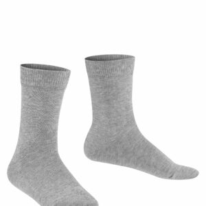 Kindersokken unisex family - light grey