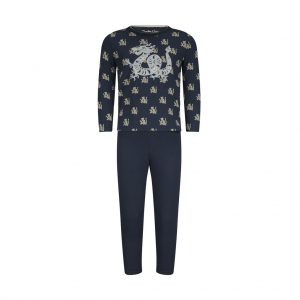 Pyjama Far East - blauw