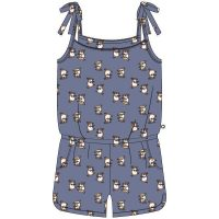 Woody meisjes jumpsuit. Blauw cavia all over print.